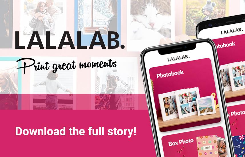 Lalalab - landing